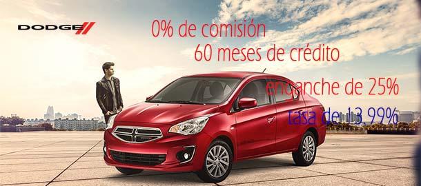 Promociones en la compra de autos nuevos de la marca Dodge