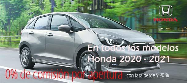 Promociones en la compra de autos nuevos Honda